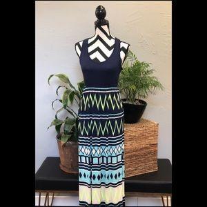 Chevron Maxi Dress
